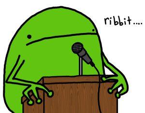 frog-speech