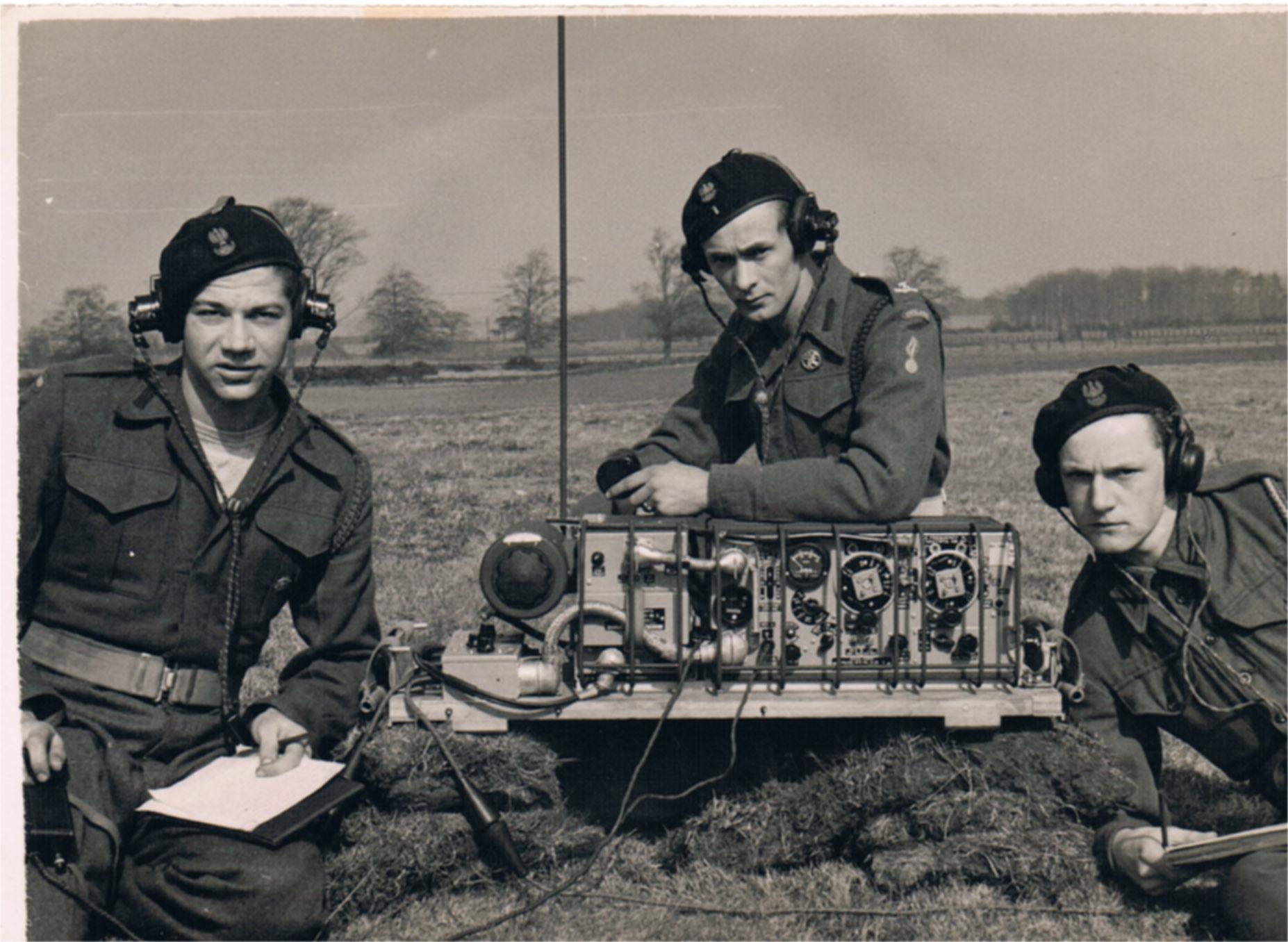 Roman Tudzierz w mundurze Polskich Sił Zbrojnych w Szkocji. 1946 rok.