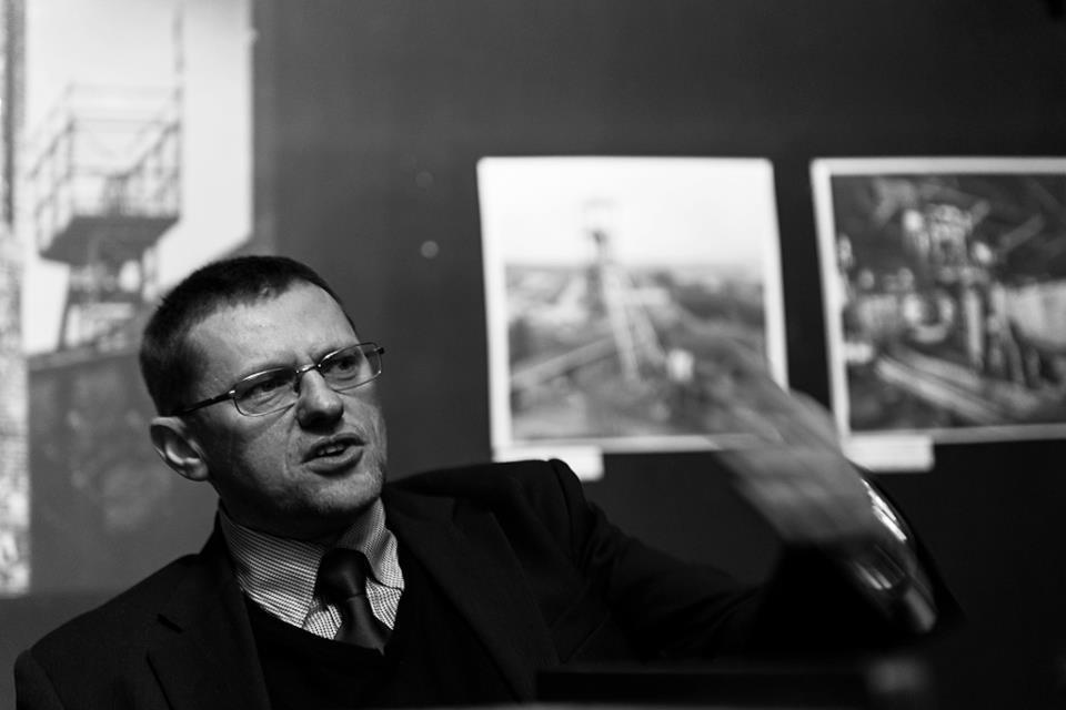 prof. Kadłubek podczas Ślōnskigo sznelcuga