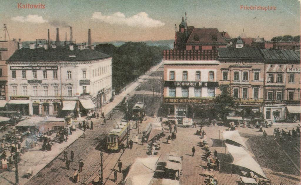 Kattowitz_-_Friedrichplatz