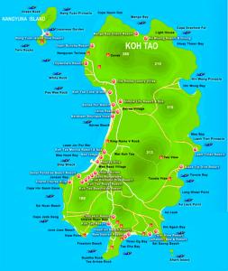 plaże na Ko Tao