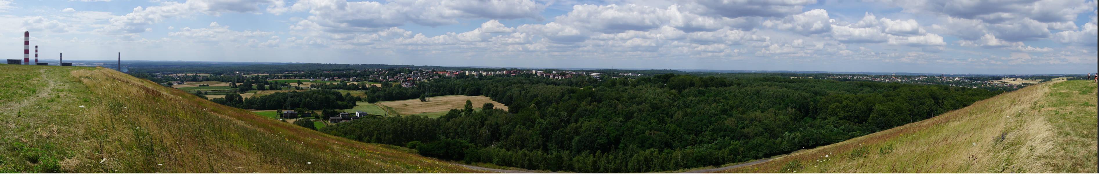 Panorama Łazisk Górnych