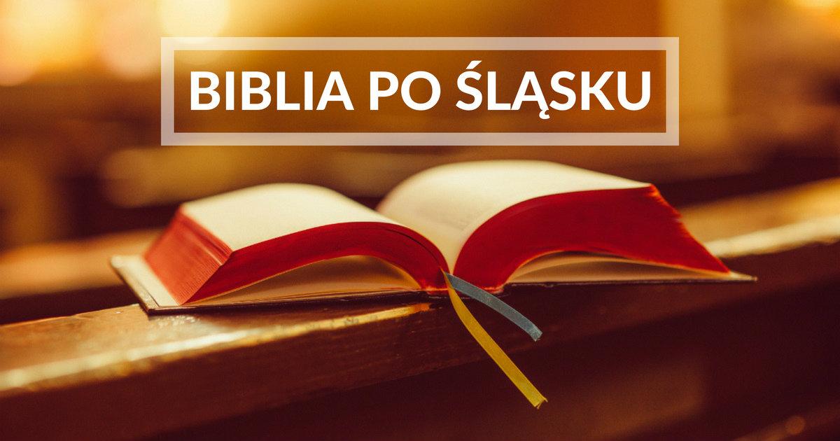 Biblia po śląsku