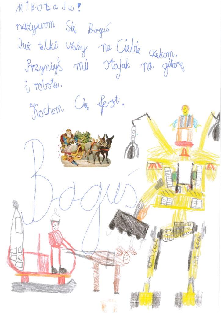 Listy do św. Mikołaja po śląsku